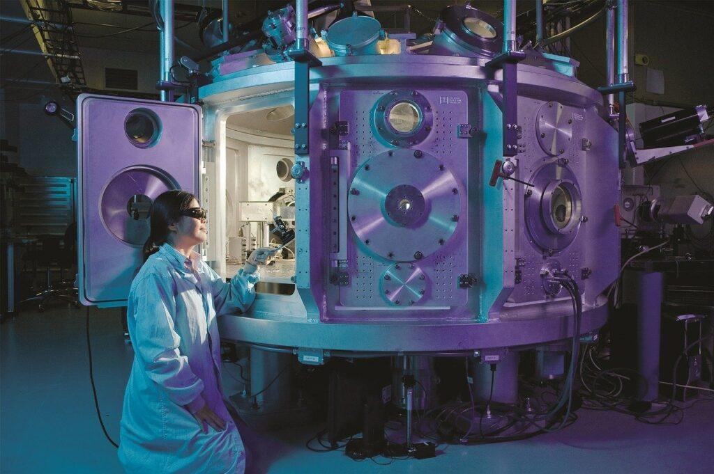 application of laser