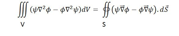 State and prove green's theorem